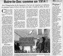 Article de la Voix du Nord évoquant l'inauguration de la résidence H.L.M François Mitterrand